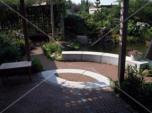 Terrasse Aus Klinkerpflaster Bild Kaufen 12108071 Friedrich
