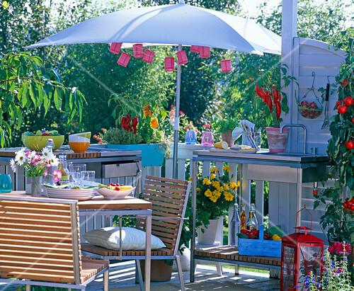 Outdoor Küche Balkon : Theke küche arbeitsplatte outdoor küche auf balkon tafel für ikea