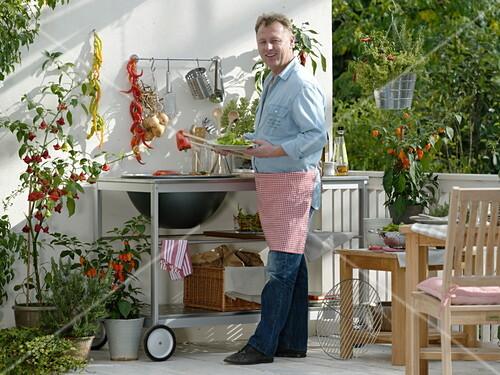Outdoor Küche Balkon : Outdoor küche kaufen für garten und terrasse