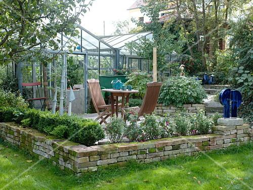 Kunstlergarten Terrasse Am Bild Kaufen 12169031 Friedrich
