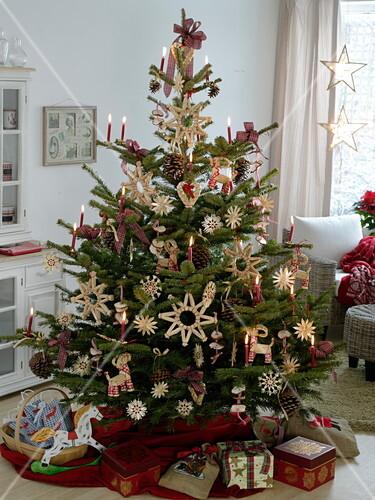 Altdeutscher Weihnachtsbaum Mit Bild Kaufen 12169893
