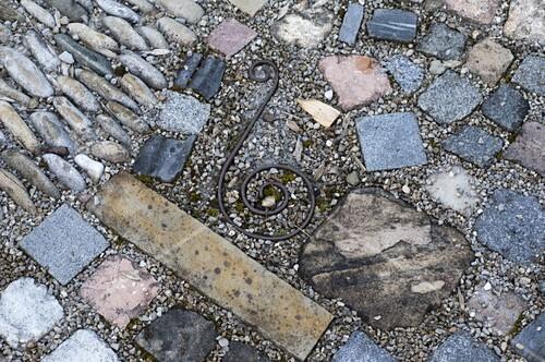 Interessant Gepflasterte Kleine Terrasse Bild Kaufen 12174833