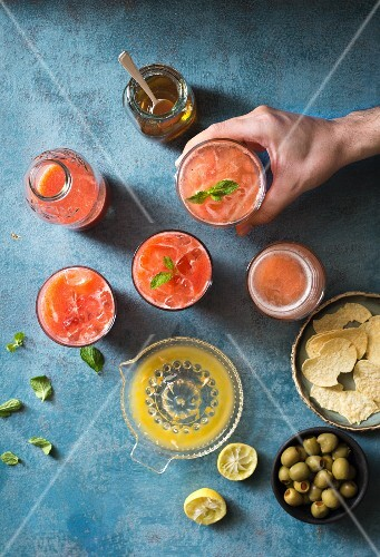 Strawberry Orange Lemonade