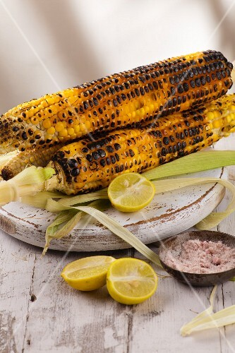 Indian Street Food: Grilled corn