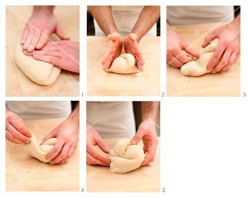 St. Gallener bread being made (Switzerland)