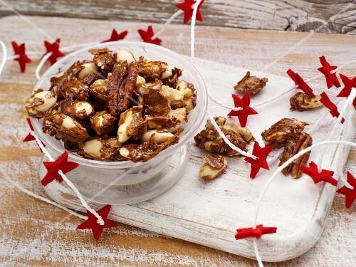 Sweet Christmas nuts
