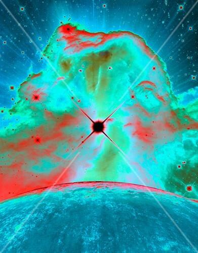 Horsehead Nebula,HST image