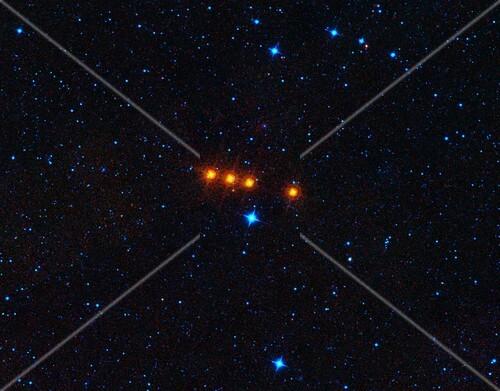 Euphrosyne asteroid,satellite image
