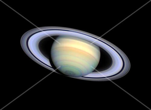 Saturn,optical image