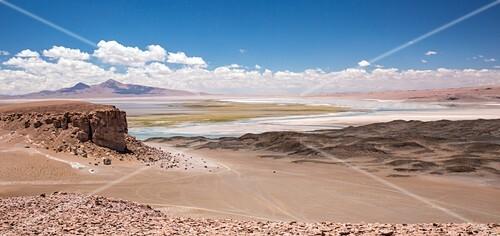 Salar de Tara,Atacama desert Chile