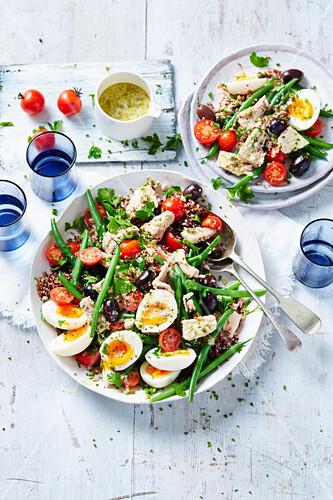 Tuna and Quinoa Nicoise Salad