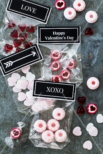 Homemade sweets for Valentine's Day
