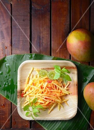 Sambal Mangga (Mango-Chili-Relish, Indonesien)