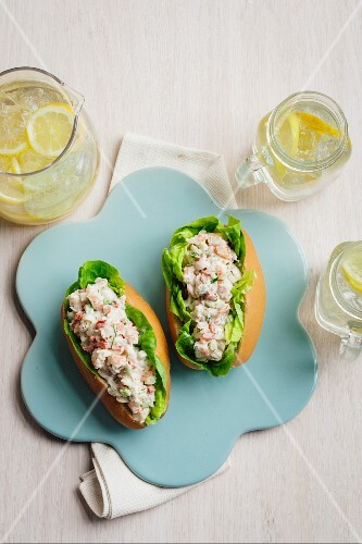 Lobster buns and lemonade (USA)