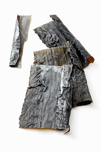 getrocknete kombu algen bild kaufen 12409713 stockfood. Black Bedroom Furniture Sets. Home Design Ideas