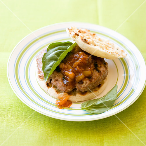 Simple Hawaiian Pork Burger