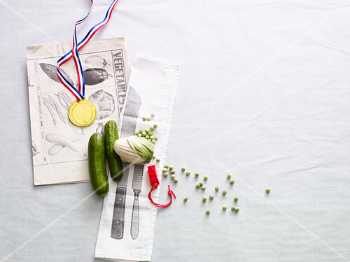 A symbolic image for vegetable champions