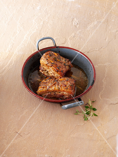 Belly Pork in Oven Dish