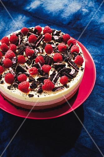 Neapolitan mousse cake
