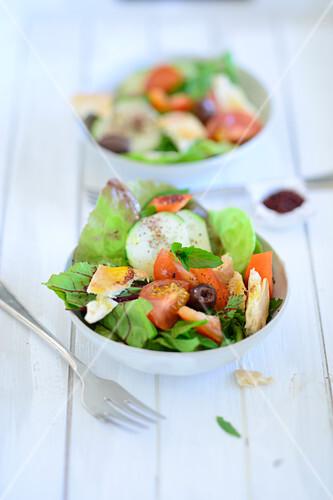 Fattoush (Arabian bread salad)