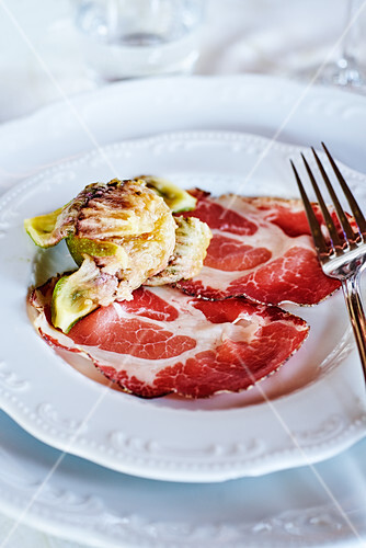 Apulian figs and Proscuitto