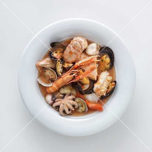 Fish and seafood soup (Italy)