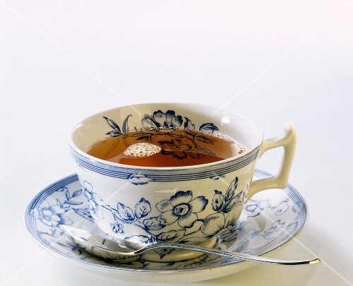 A Cup of Tea in Chinaware