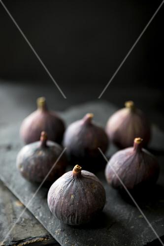 Still life of fresh figs from Turkey