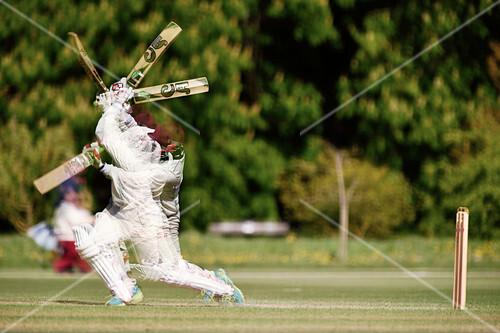 Cricket shot, time-lapse image