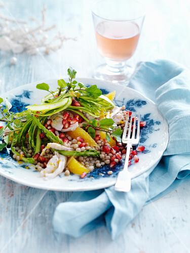Salat Weihnachten.Perlcouscous Salat Mit Pute Und Bilder Kaufen 12593063