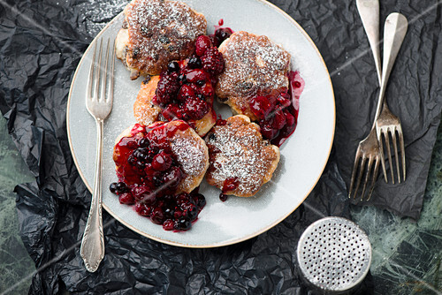 Struwen (Westphalian yeast pancakes for Good Friday)