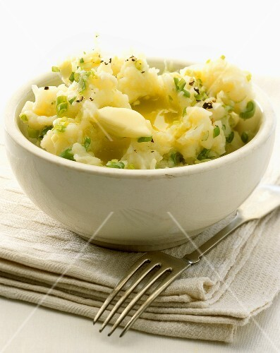 Irish champ (traditional Irish potato dish)