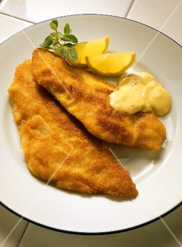 Fish Fillet with Remoulade Sauce