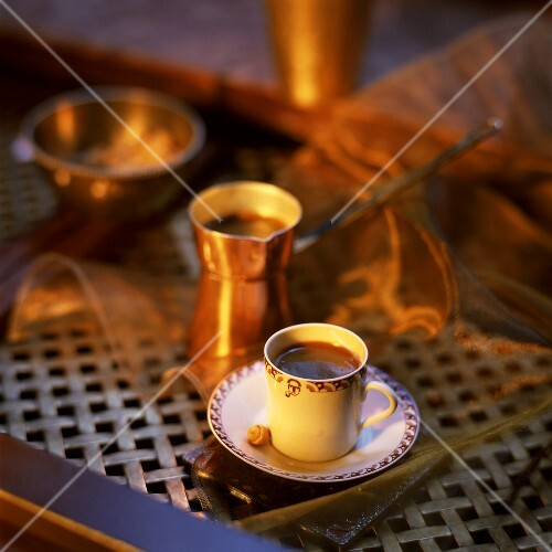 Turkish coffee (Kahve)