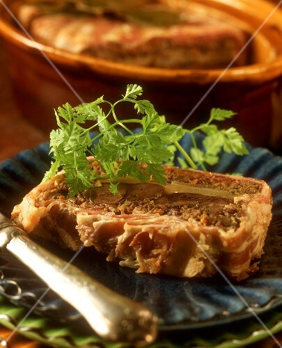 Hare pate, Normandy style