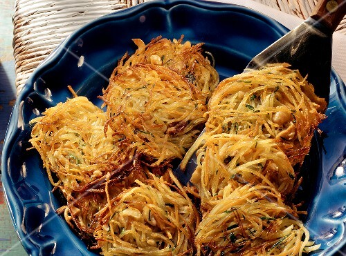 Potato and vegetable rosti
