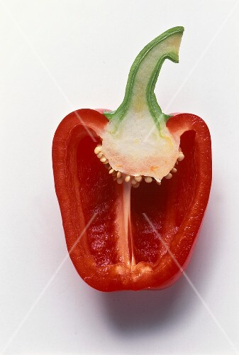 Half a red pepper
