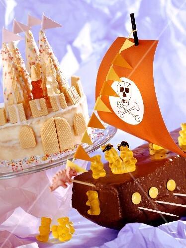 Kindergeburtstag Piratenschiff Kuchen Bilder Kaufen 219869