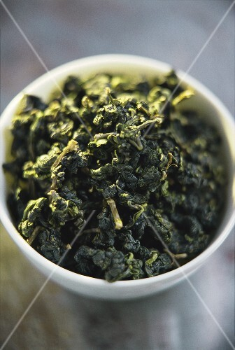 Chinese green tea (Oolong, dry)