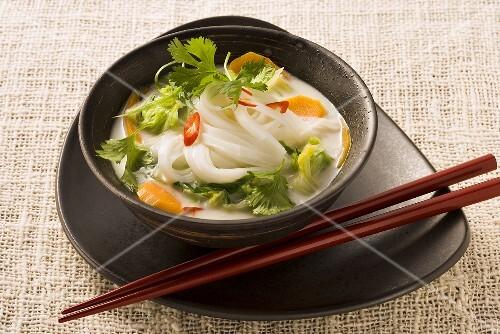 Thai noodle stew