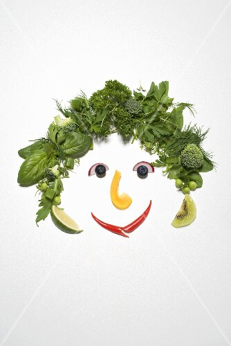 Herb and vegetable face