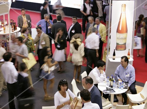 VinExpo 2005 in Bordeaux, France