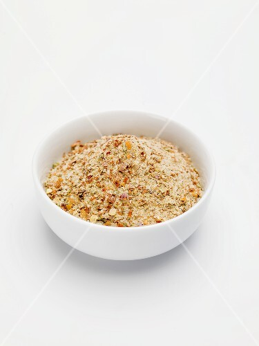 A mixture of spices in a bowl