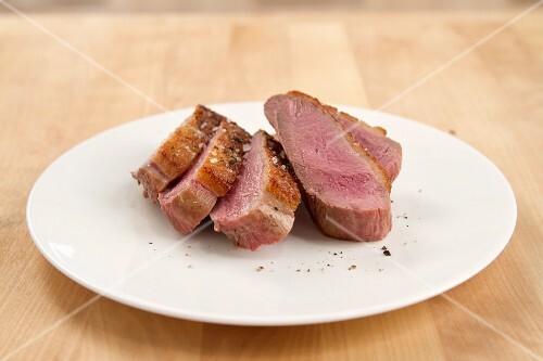 Roast duck breast