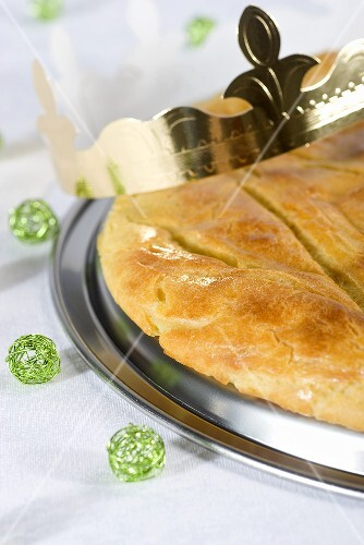 Galette des rois from the Franche-Comte region (France)