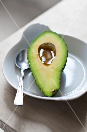 Avocado with vinaigrette