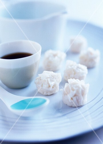 Shrimp shaomai (or shu mai, Japanese dumplings)