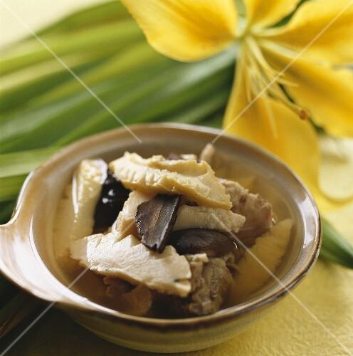 Ente mit Abalone