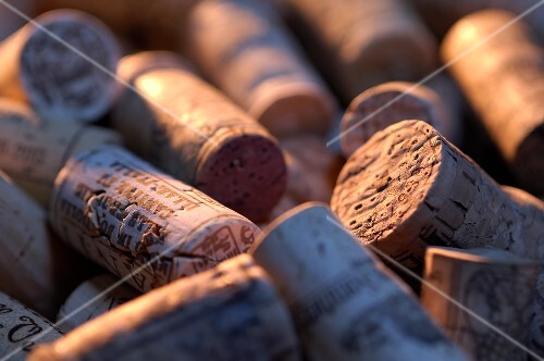 Lots of different corks