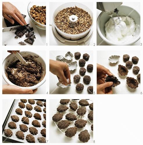 Baking bear paw cookies